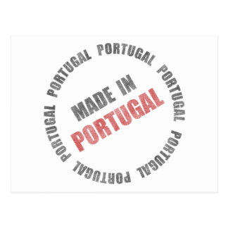 Made In Portugal Postcard