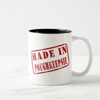 Made in Poughkeepsie Two-Tone Coffee Mug
