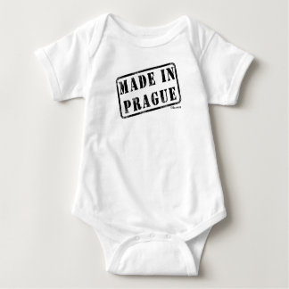 Made in Prague Baby Bodysuit