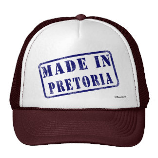 Made in Pretoria Trucker Hat