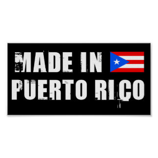 Made in Puerto Rico Print