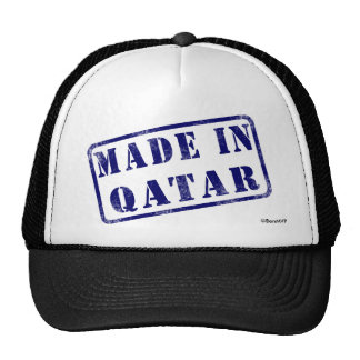 Made in Qatar Mesh Hats