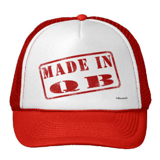 Made in QB Hats