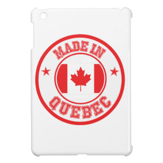Made In Quebec Case For The iPad Mini
