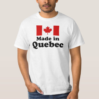 Made in Quebec Shirt