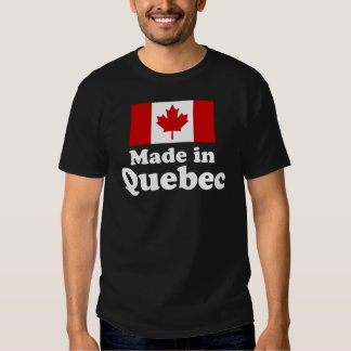 Made in Quebec T-shirts