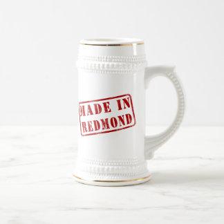 Made in Redmond Beer Stein