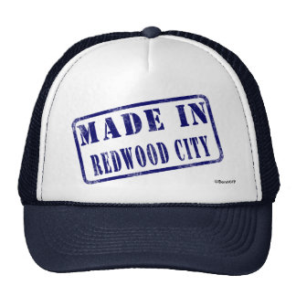 Made in Redwood City Trucker Hat