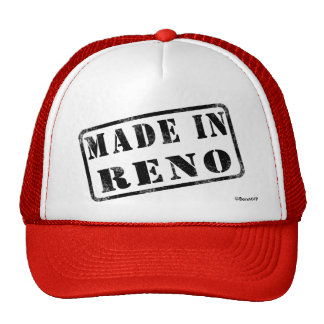 Made in Reno Trucker Hat