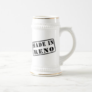 Made in Reno 18 Oz Beer Stein