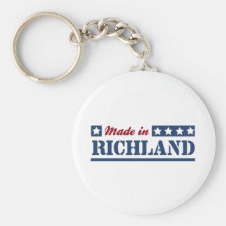 Made in Richland Keychain