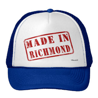 Made in Richmond Trucker Hat