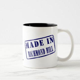 Made in Richmond Hill Two-Tone Coffee Mug