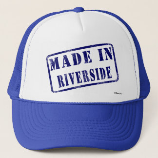 Made in Riverside Trucker Hat
