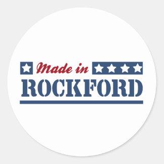 Made in Rockford Round Sticker
