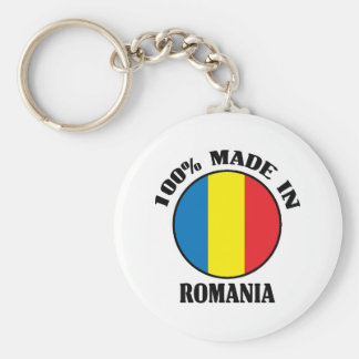 Made In Romania Keychains