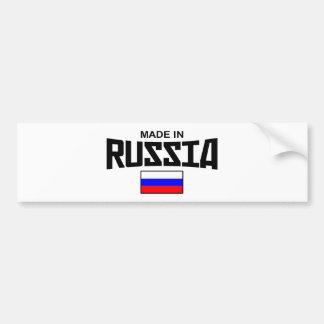 Made In Russia Bumper Sticker