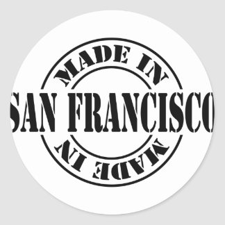Made in San Francisco Classic Round Sticker