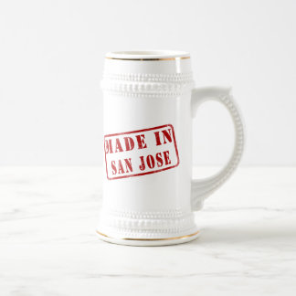 Made in San Jose Beer Stein