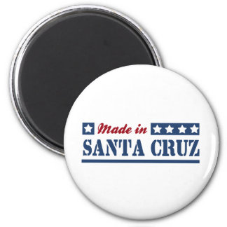 Made in Santa Cruz 2 Inch Round Magnet