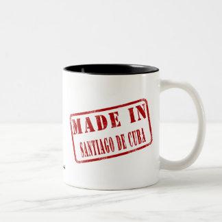 Made in Santiago de Cuba Two-Tone Coffee Mug