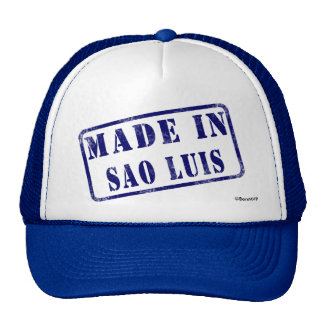 Made in Sao Luis Hats