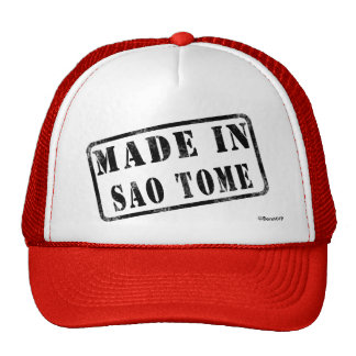 Made in Sao Tome Trucker Hat