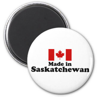 Made in Saskatchewan 2 Inch Round Magnet