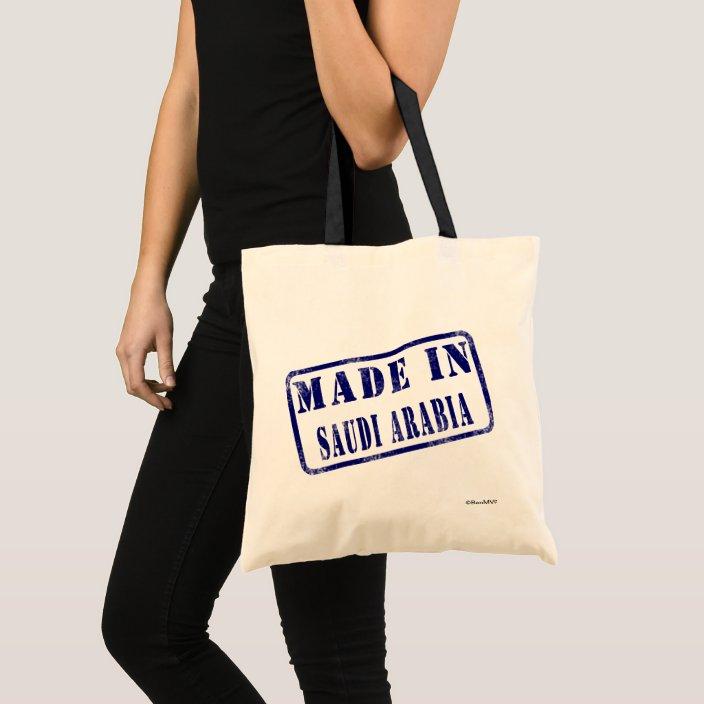 Made in Saudi Arabia Bag
