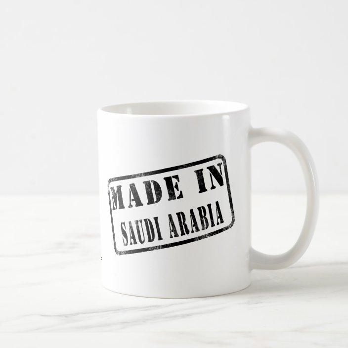 Made in Saudi Arabia Coffee Mug