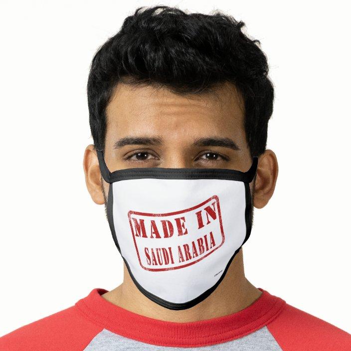 Made in Saudi Arabia Face Mask