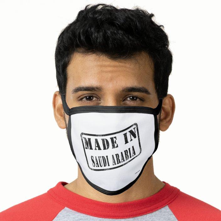 Made in Saudi Arabia Mask