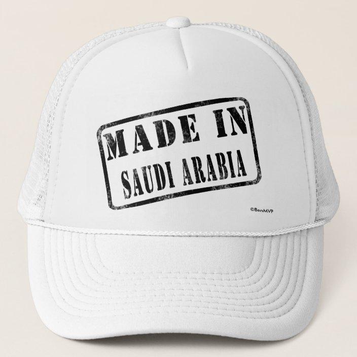 Made in Saudi Arabia Mesh Hat