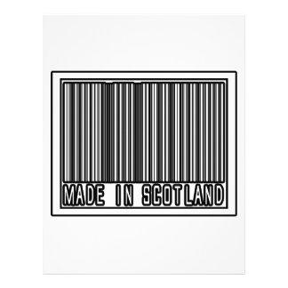 Made In Scotland Letterhead Template
