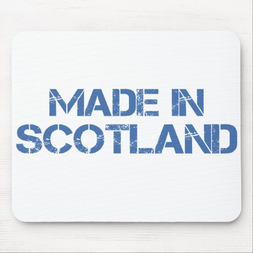 Made In Scotland Mousepad