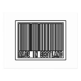 Made In Scotland Post Card