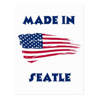 MADE IN SEATLE POST CARD