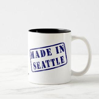 Made in Seattle Two-Tone Coffee Mug