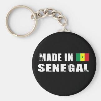 Made in Senegal Basic Round Button Keychain