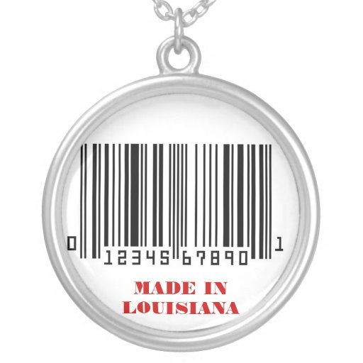 """""""Made In""""  Series (Louisiana) Necklace"""