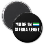 Made in Sierra Leone Magnets