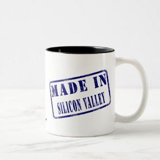 Made in Silicon Valley Two-Tone Coffee Mug