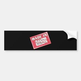 Made In Sinai Car Bumper Sticker