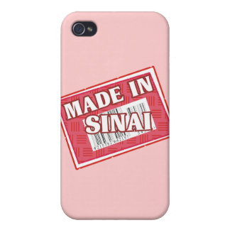 Made In Sinai Cover For iPhone 4