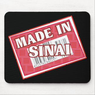 Made In Sinai Mouse Pad