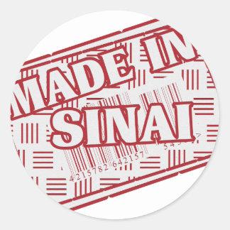 Made In Sinai Classic Round Sticker