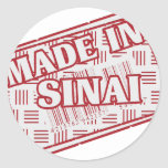Made In Sinai Stickers