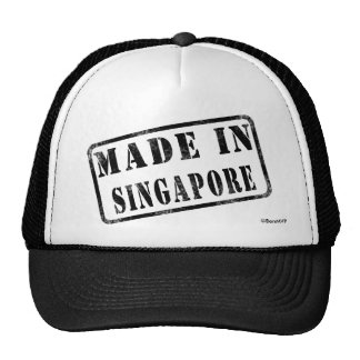 Made in Singapore Mesh Hats