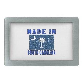 Made in South Carolina Rectangular Belt Buckle