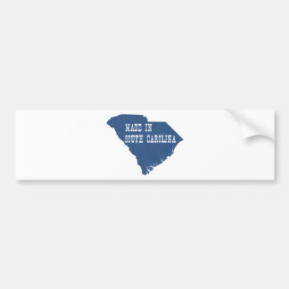 Made in South Carolina Bumper Sticker